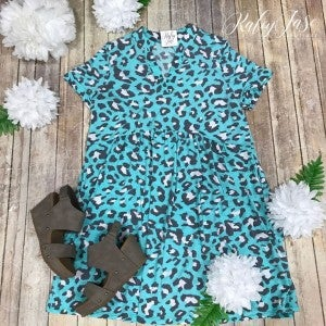 HM Mint Leopard Gabby Dress
