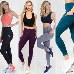 High Waist Pocket Workout Leggings