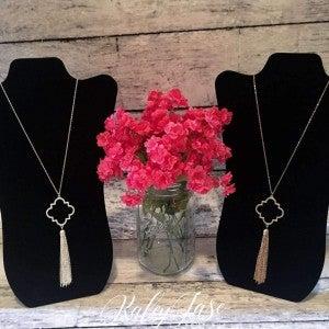 Quatrefoil Necklace #4 & #5