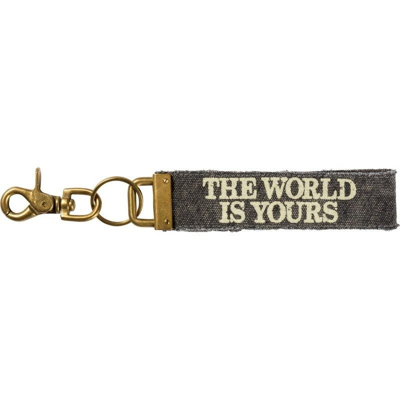 Keychain - The World Is Yours