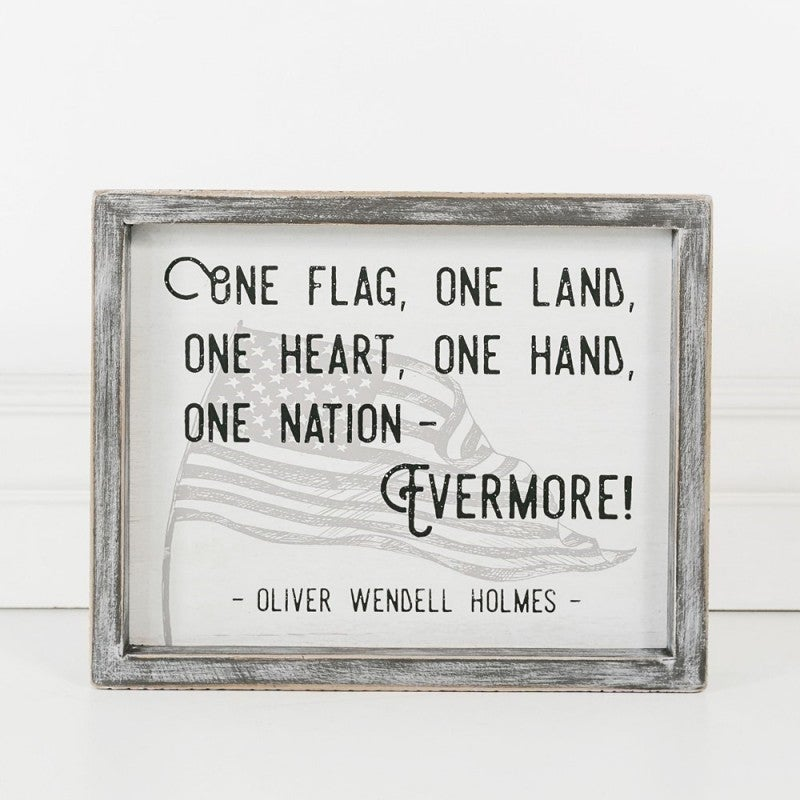 WOOD FRAME SIGN - EVERMORE
