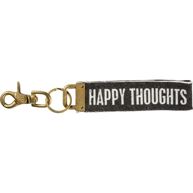 Keychain - Happy Thoughts