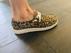 Gypsy Jazz Leopard Sneaker
