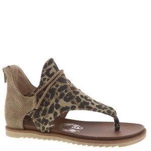 Very G Leopard Sparta Sandals