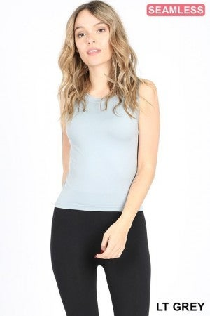 Cropped Seamless Tank Top