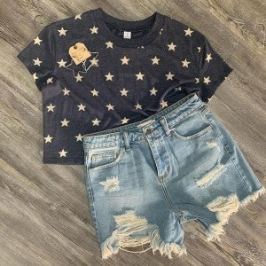 Star Crop Top