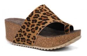 Benton Leopard Wedge