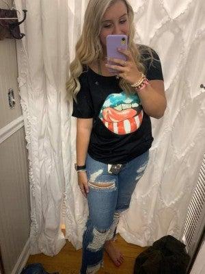 American Lips T-Shirt