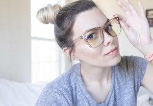Oversized Blue Light Glasses