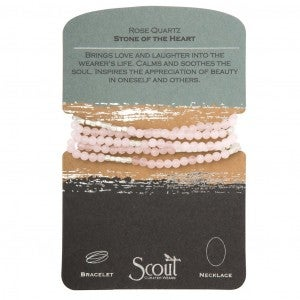 Scout Stone Wrap Bracelet/Necklace