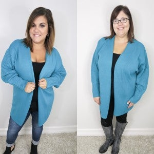 Peacock Feather Cardigan
