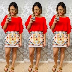The Fiesta Skirt