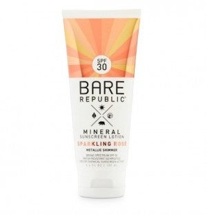 Rose Gold Mineral Lotion SPF30