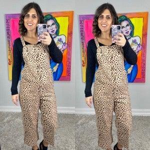Jump On It Cheetah Jumpsuit