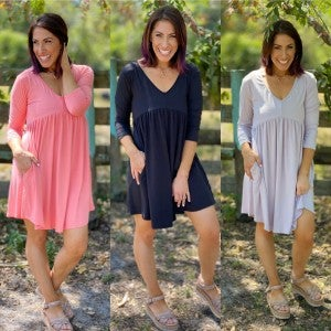 Confident Stride Dress