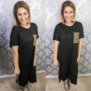 Just A Pop of Cheetah Dress