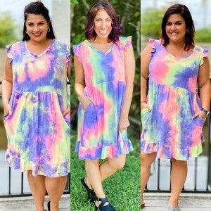 Colorful Charade Dress