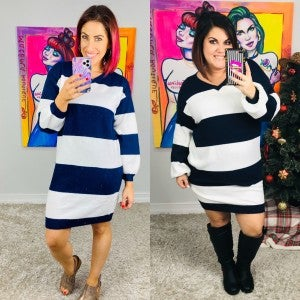 Worth the Stripe Dress