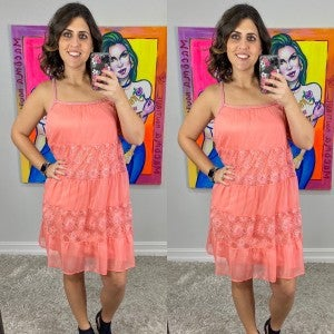 Lily Lace Braided Dress