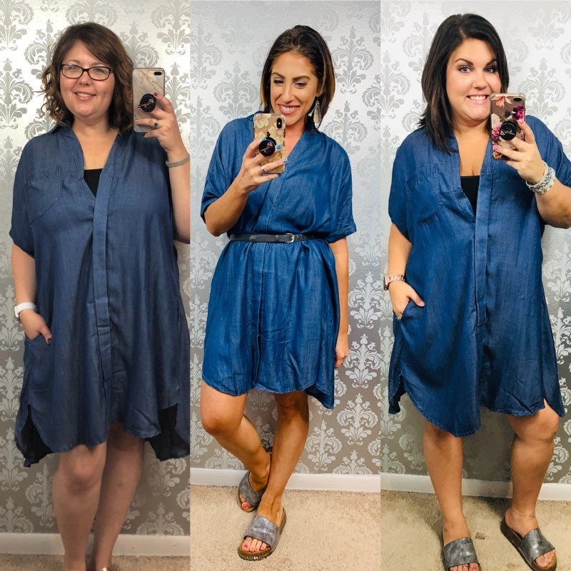 Your Favorite Denim Dress