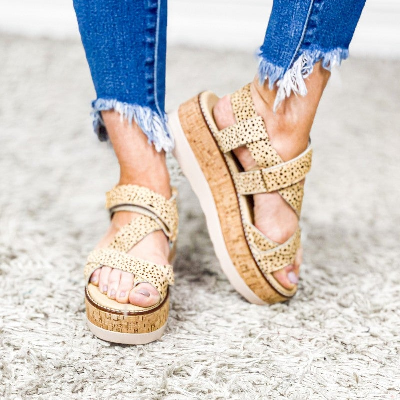 Oro Wedge Shoes