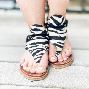 Zebra Sparta Shoes