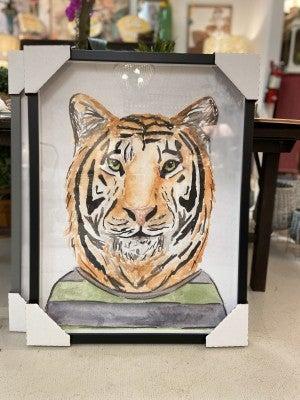 Tiger in a Tshirt 18X24
