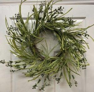 Green Bud Wreath
