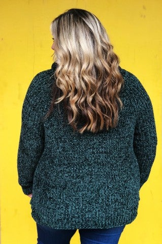 Evergreen Sweater- Plus