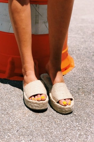 Sunny Afternoon Sandals