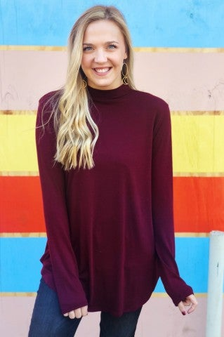 DoorBuster - Dawn Of Time Top - Burgundy