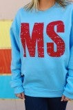 MS Sweatshirt- Powder Blue