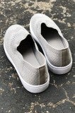 Evelyn Slip on - Grey