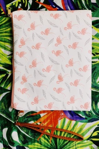 Flamingo Carry All Accessory Bag