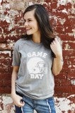 Game Day Tee- Grey