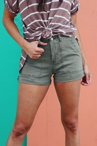 Passport High Rise Shorts