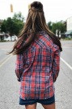 More Like Her Flannel - Red