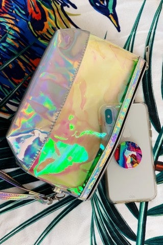 Iridescent Carry All Accessory Bag