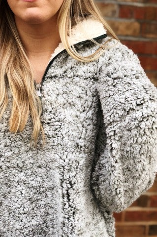 Cozy Nights Pullover - Olive