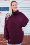 Good Together Sweater - Plum
