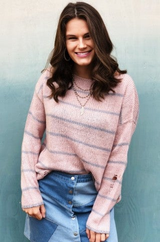 Cari Sweater - Dusty Pink