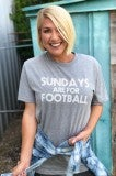 Sunday's Are For Football Tee
