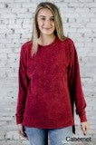 Cherry On Top Long Sleeve Crew Tunic