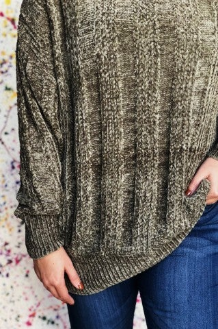 Doorbuster - Sleepyhead Sweater - Olive