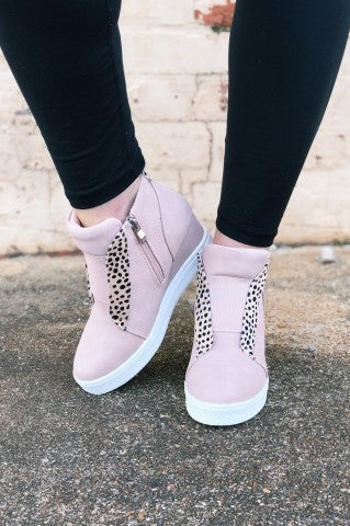 Feel The Love Sneaker Wedges