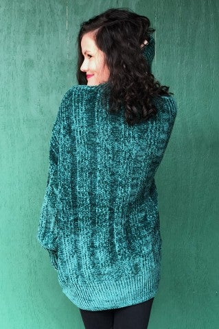 Doorbuster - The Ashley Sweater - Hunter Green