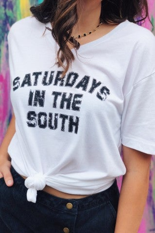 Saturdays In The South - V Neck