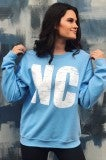 NC Sweater - Powder Blue
