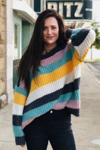 Rainbow Mix Sweater