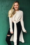 The Knot Sweater - Cream